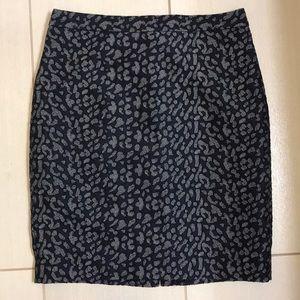 Banana Republic Cheetah Skirt